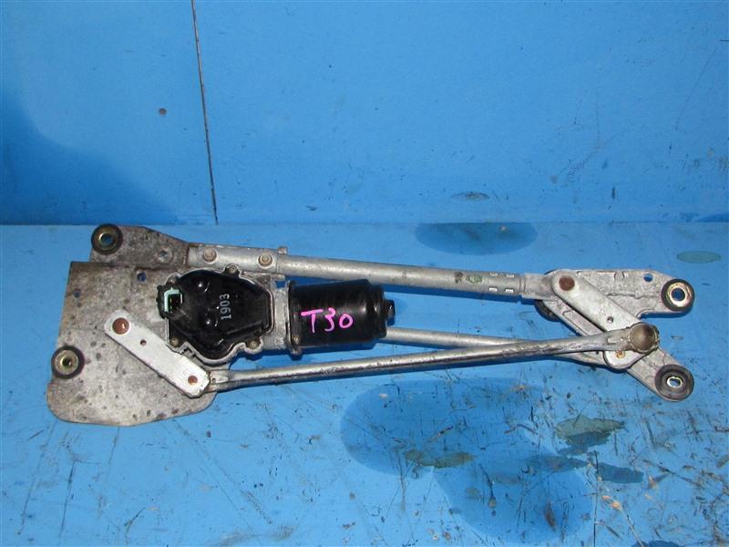 Механизм стеклоочистителя Nissan X-Trail T30 QR20DE (б/у)