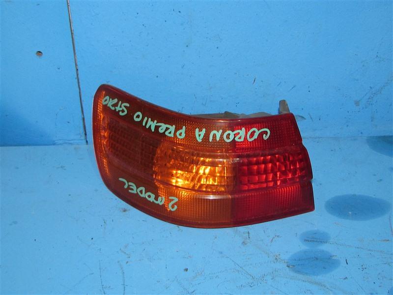 Стоп-сигнал Toyota Corona Premio ST210 задний левый (б/у)