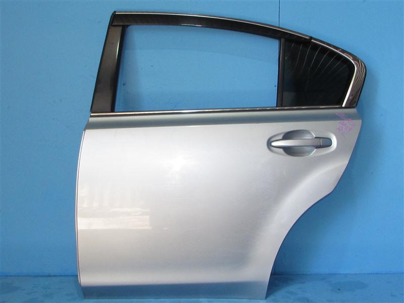 Дверь Subaru Legacy BM9 EJ255 2012 задняя левая (б/у)