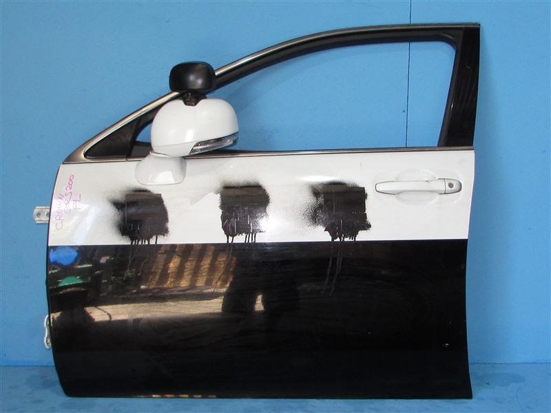 Дверь Toyota Crown GRS200 4GRFSE 2010 передняя левая (б/у)