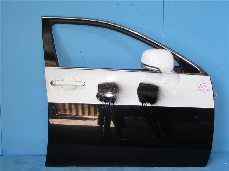 Дверь Toyota Crown GRS200 4GRFSE 2010 передняя правая (б/у)