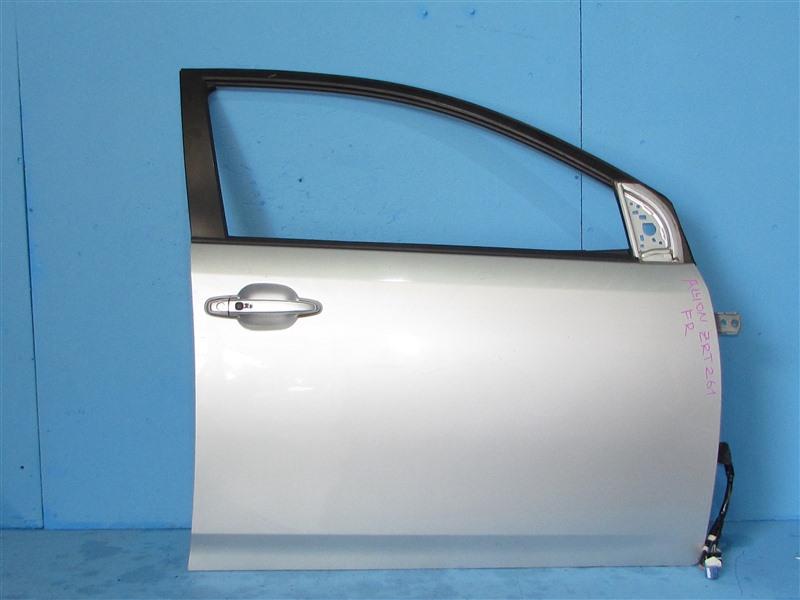 Дверь Toyota Allion ZRT261 3ZRFAE 2007 передняя правая (б/у)