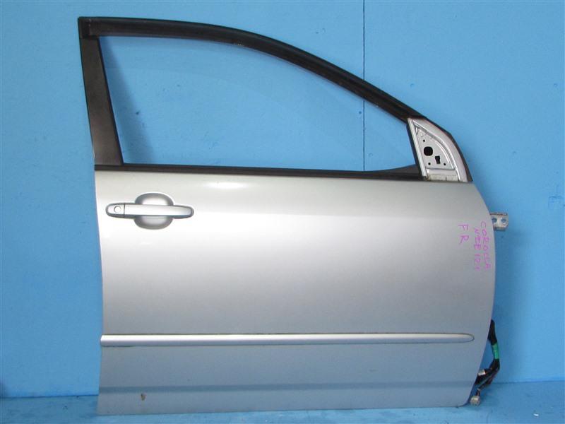 Дверь Toyota Corolla NZE121 1NZFE 2004 передняя правая (б/у)