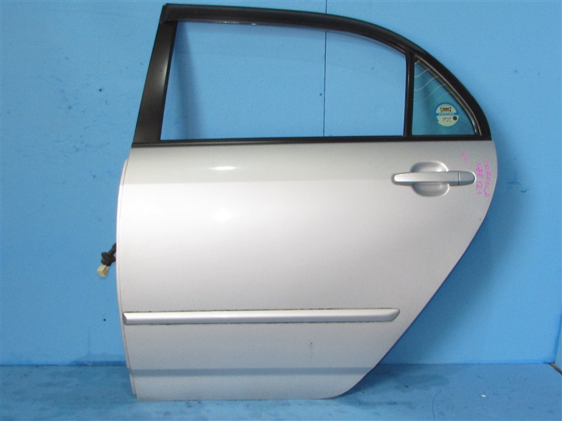 Дверь Toyota Corolla NZE121 1NZFE 2004 задняя левая (б/у)