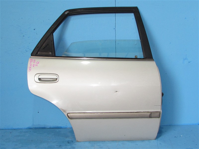 Дверь Toyota Sprinter AE110 5AFE 1995 задняя правая (б/у)