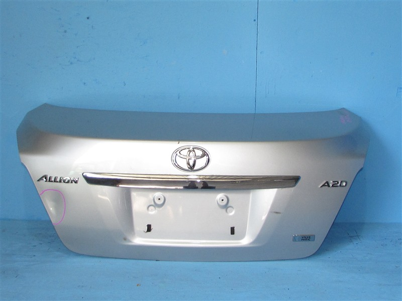 Крышка багажника Toyota Allion ZRT261 3ZRFAE 2007 (б/у)