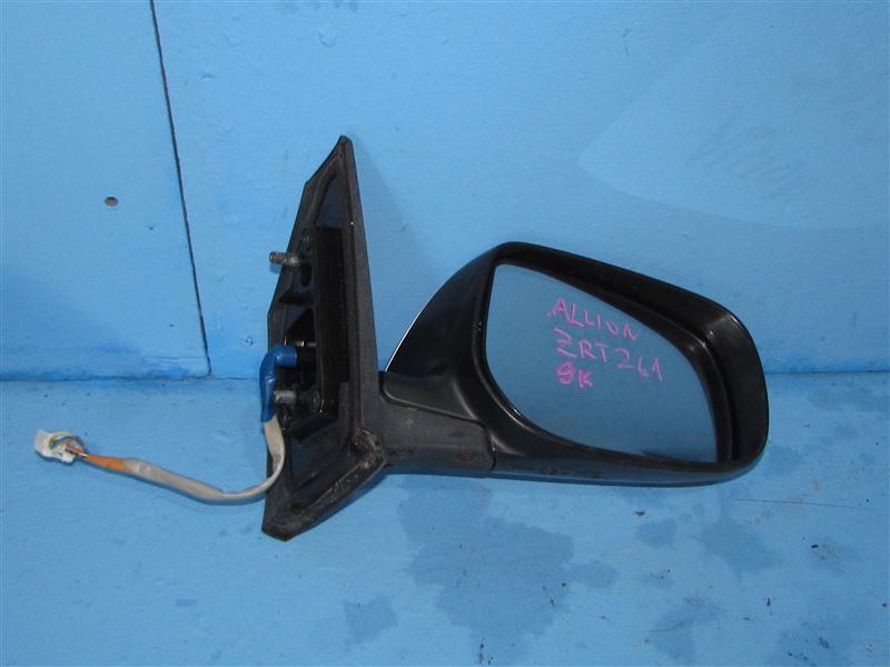 Зеркало Toyota Allion ZRT261 3ZRFAE 2007 переднее правое (б/у)