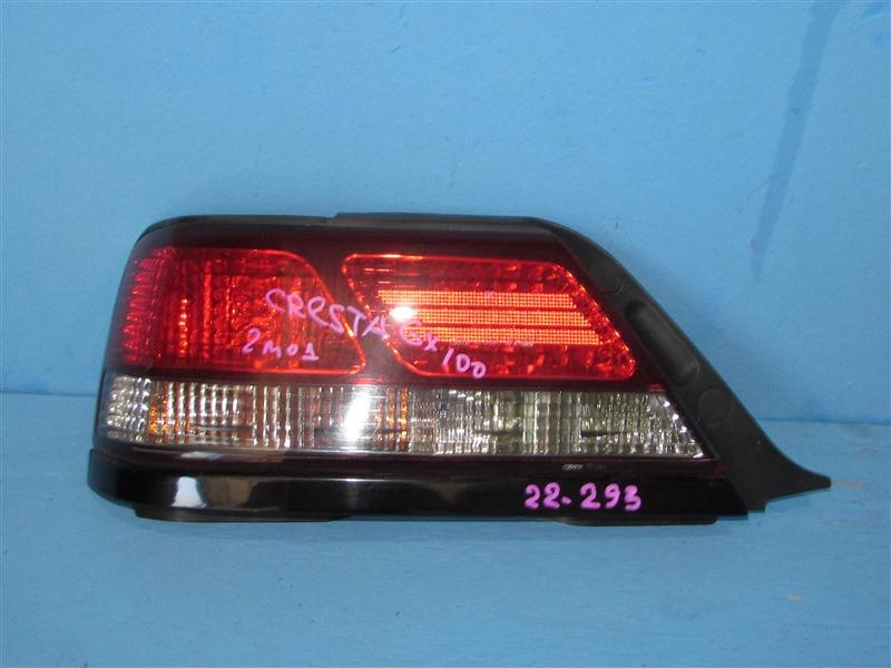 Стоп-сигнал Toyota Cresta GX100 1GFE 1998 задний левый (б/у)