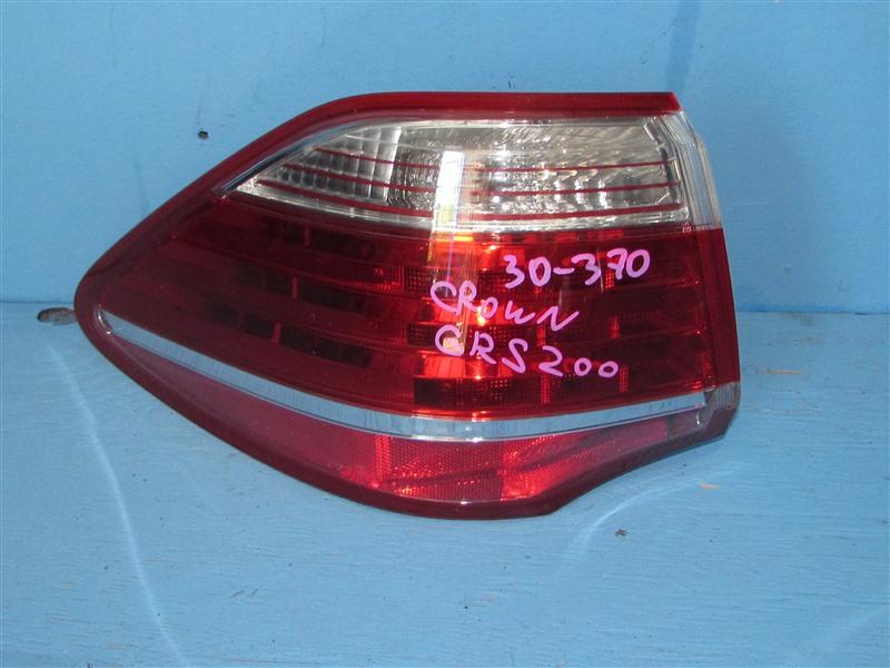 Стоп-сигнал Toyota Crown GRS200 4GRFSE 2010 задний левый (б/у)