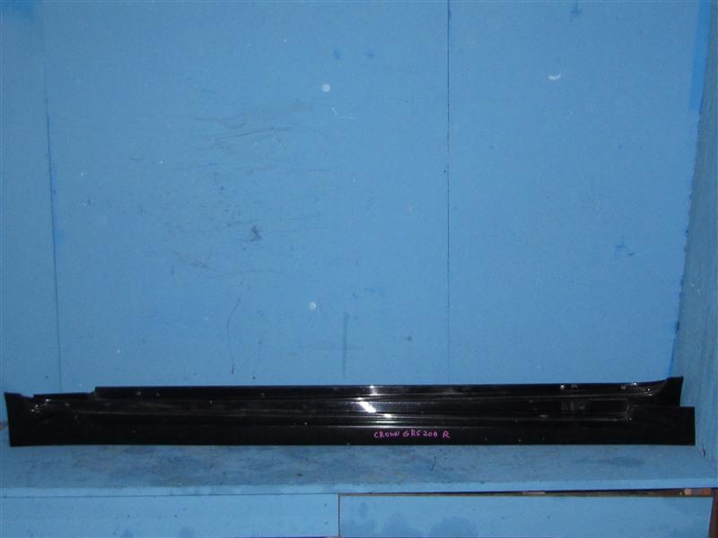 Накладка на порог Toyota Crown GRS200 4GRFSE 2012 (б/у)