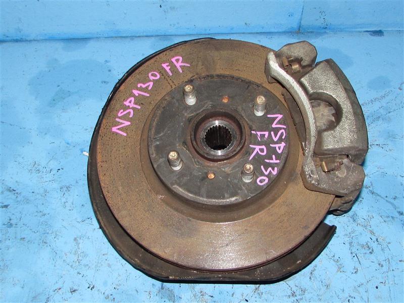 Ступица Toyota Vitz NSP130 передняя правая (б/у)