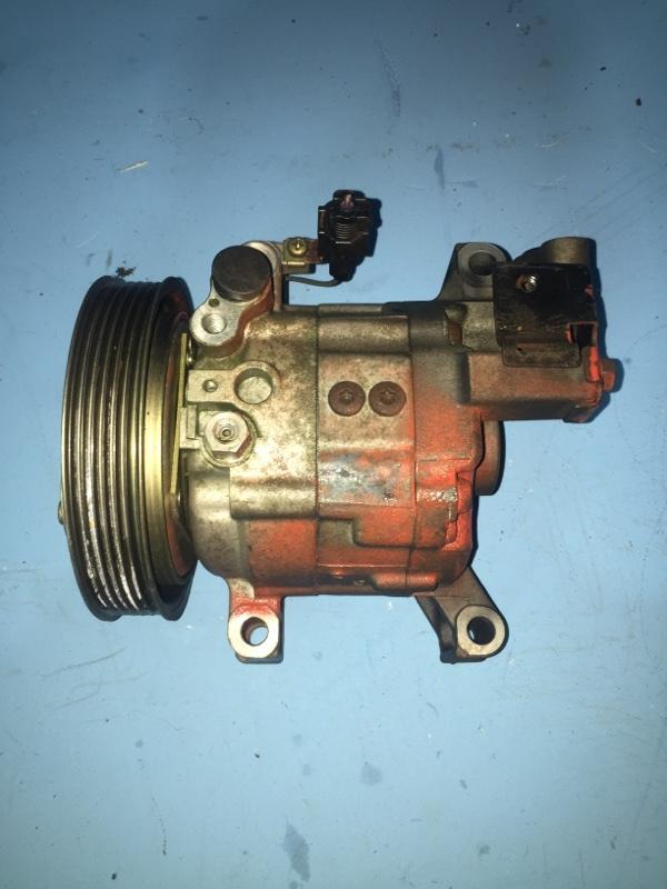 Компрессор кондиционера Nissan Bluebird Sylphy QG10 QG15DE (б/у)
