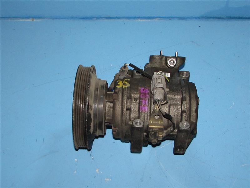 Компрессор кондиционера Toyota Caldina ST190 3SFE (б/у)