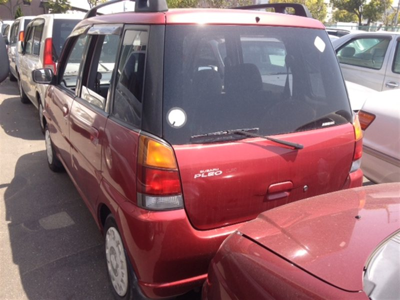 Бампер Subaru Pleo RA1 1999 задний (б/у)