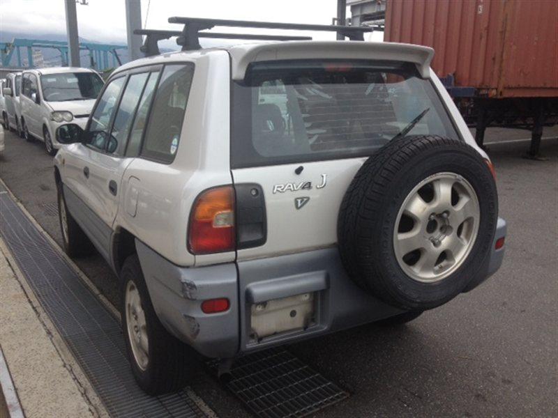 Бампер Toyota Rav4 SXA11 1996 задний левый (б/у)