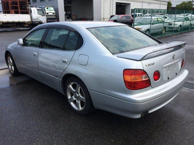 Накладка на порог Toyota Aristo JZS161 1997 левая (б/у)