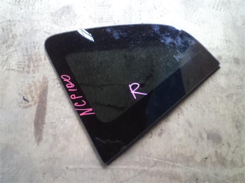 Стекло собачника Toyota Ractis NCP100 2006 правое (б/у)