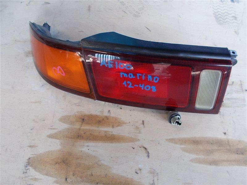 Фонарь задний Toyota Marino AE101 1995 левый (б/у)