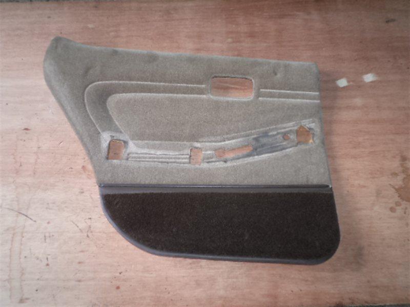 Обшивка дверей Toyota Mark Ii JZX81 задняя левая (б/у)