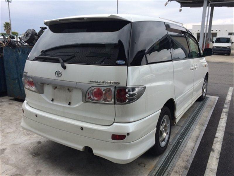 Стекло собачника Toyota Estima Hybrid AHR10 2002 правое (б/у)