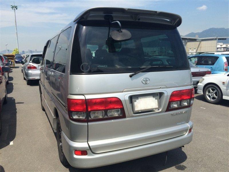 Стекло собачника Toyota Touring Hiace RCH47 2002 левое (б/у)