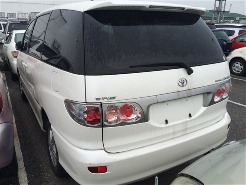Стекло собачника Toyota Estima Hybrid AHR10 2002 левое (б/у)