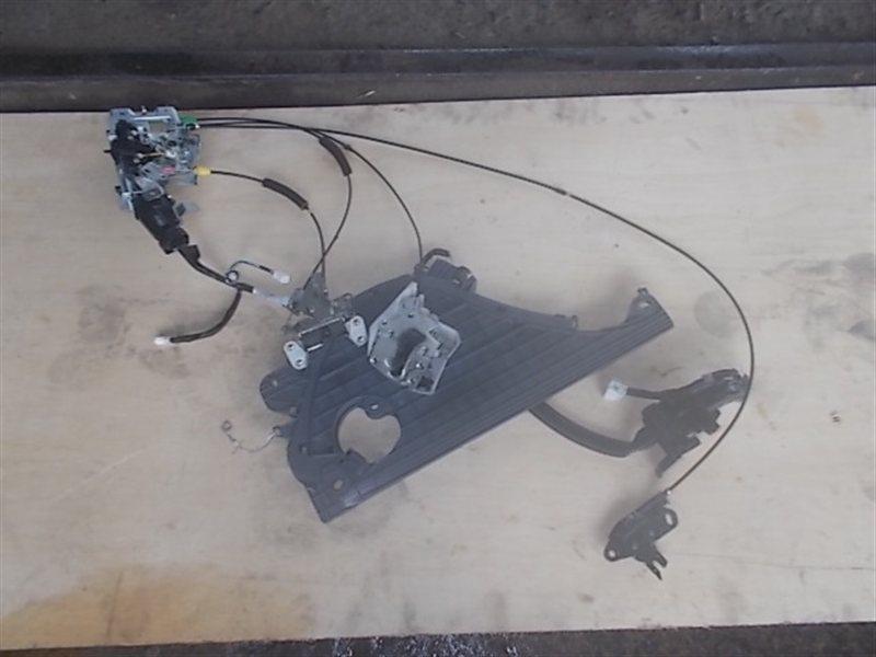 Механизм открывания двери Toyota Voxy ZRR70 2008 задний левый (б/у)