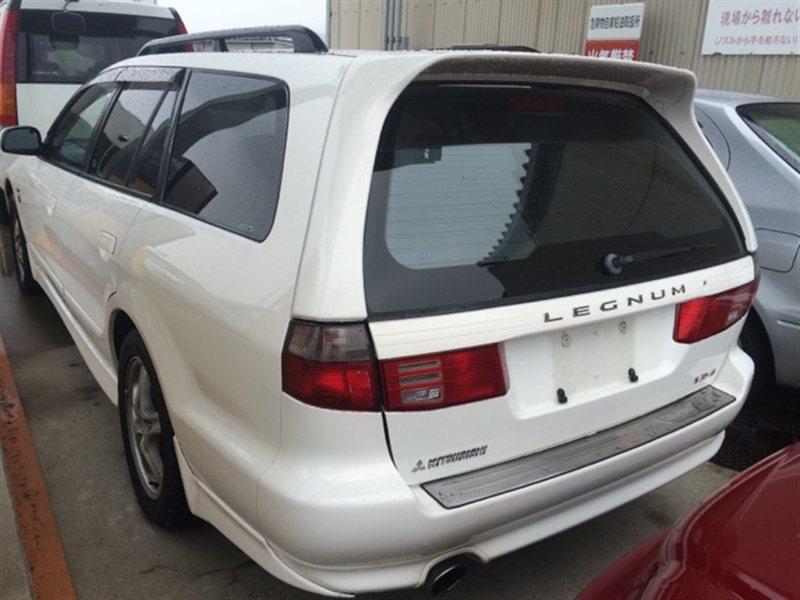 Накладка на порог Mitsubishi Legnum EC5W 1997 левая (б/у)