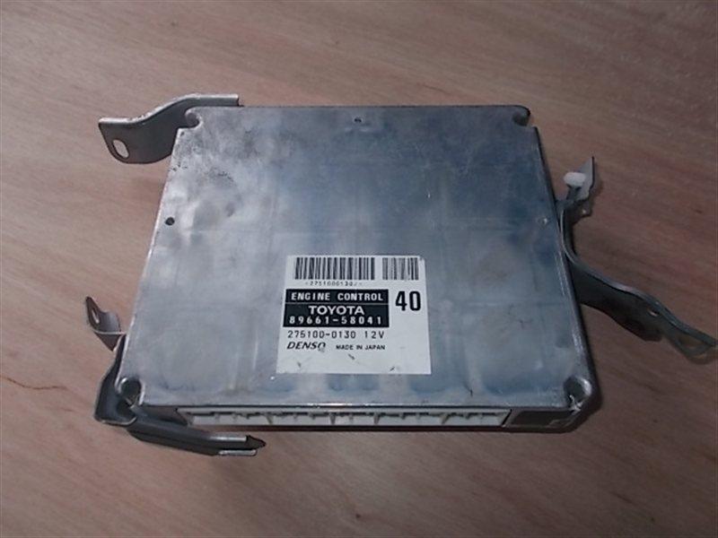 Блок управления двс Toyota Alphard ANH15 2AZ 2004 (б/у)