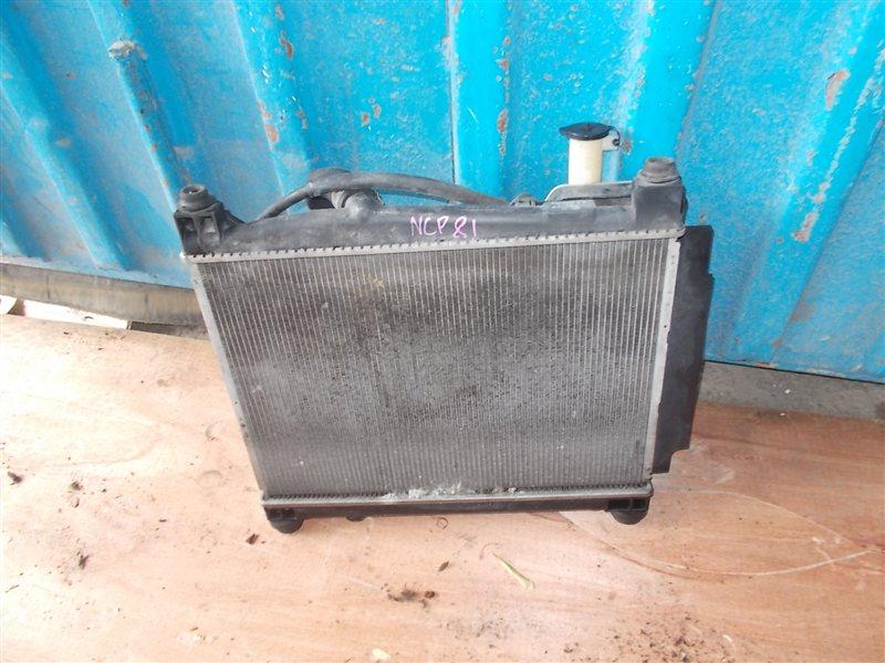 Радиатор Toyota Sienta NCP81 1NZ 2008 (б/у)