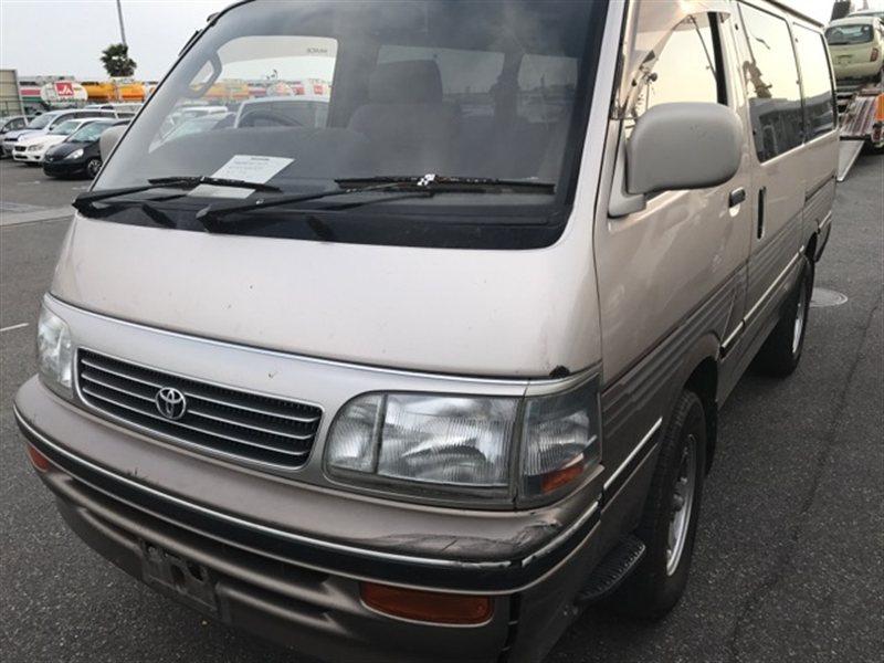 Дверь Toyota Hiace KZH106 1995 передняя левая (б/у)