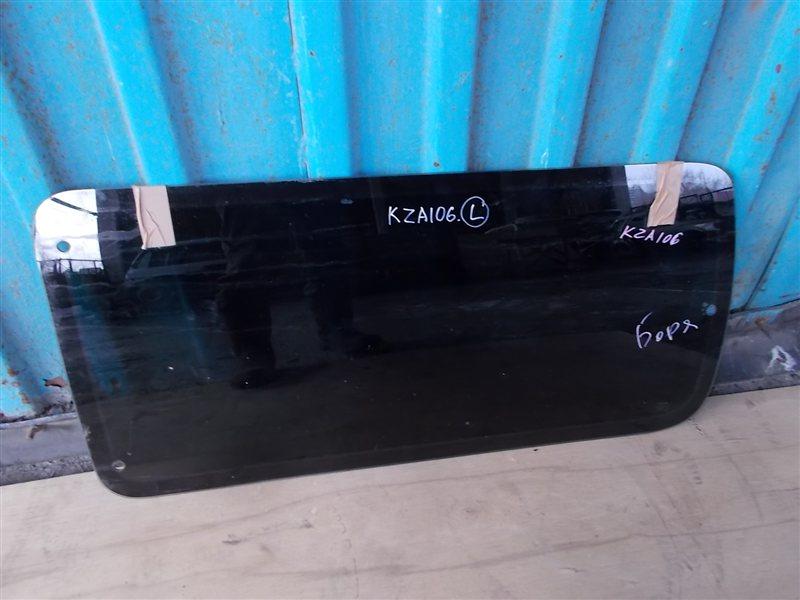 Стекло собачника Toyota Hiace KZH106 1995 левое (б/у)