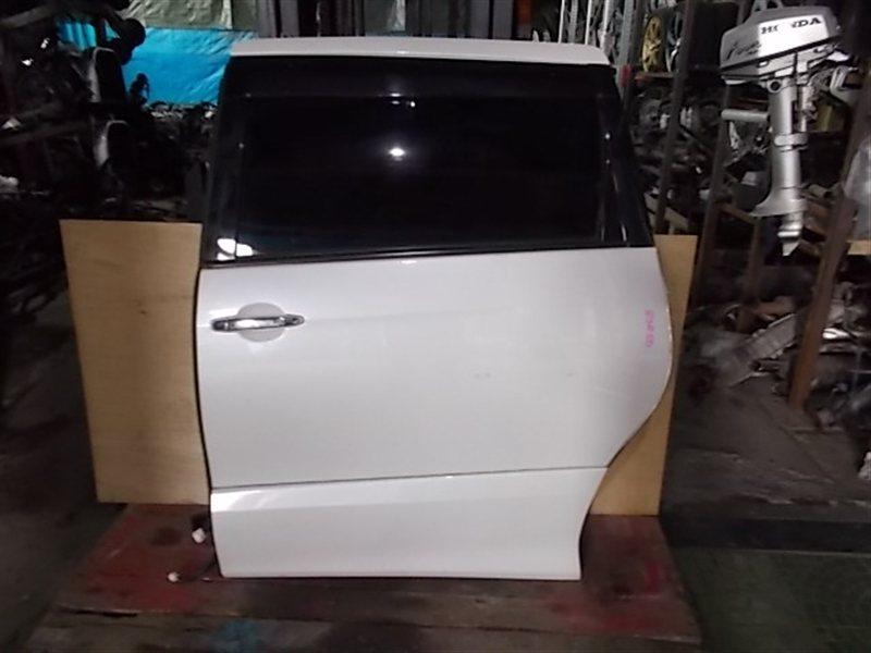 Дверь Toyota Estima GSR50 2007 задняя левая (б/у)