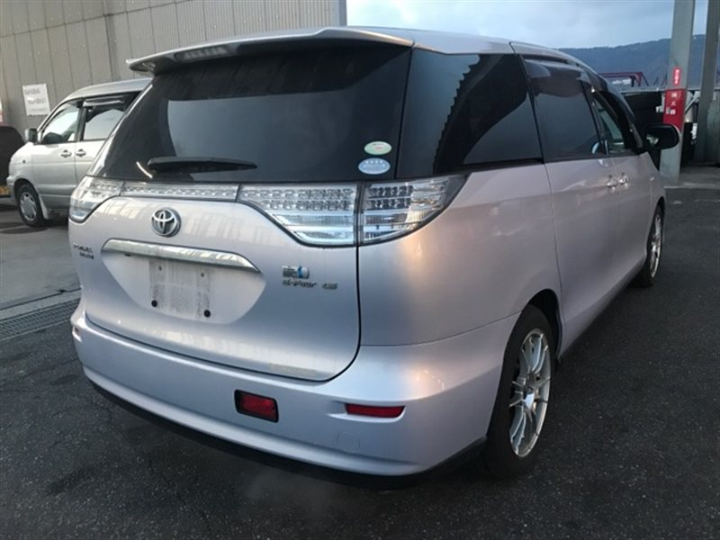 Бампер Toyota Estima Hybrid AHR20 2007 задний (б/у)
