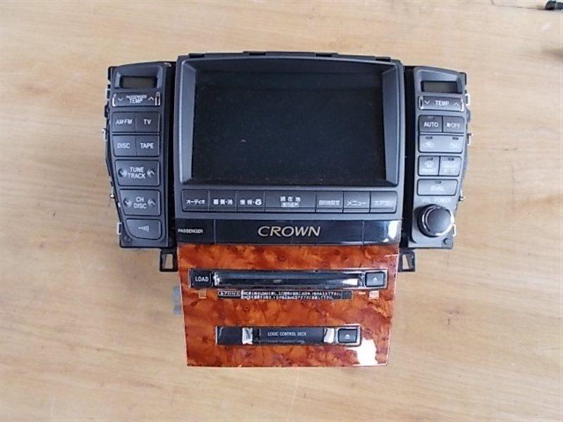 Монитор Toyota Crown GRS182 2004 (б/у)