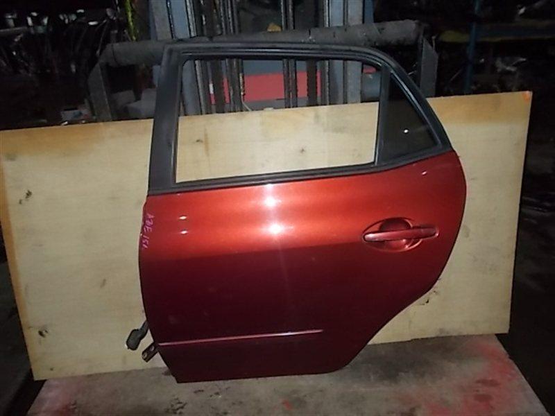 Дверь Toyota Blade AZE156 задняя левая (б/у)