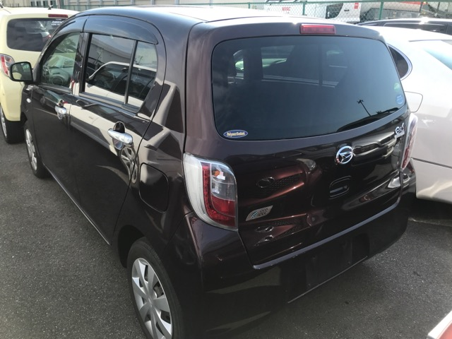 Бампер Daihatsu Mira Eis LA300S KF-VE3 2012 задний (б/у)
