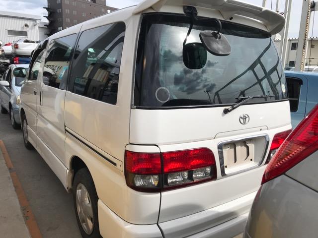 Стекло собачника Toyota Hiace Regius RCH41 3RZ 1999 левое (б/у)
