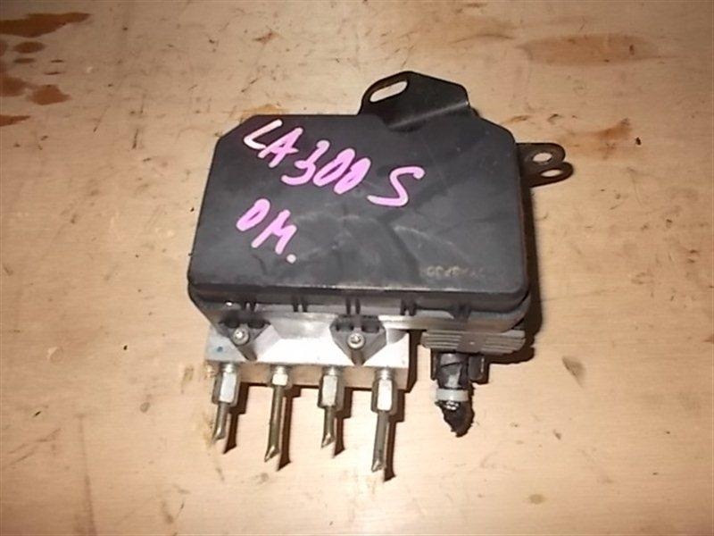 Блок abs Daihatsu Mira Eis LA300S KF-VE3 2012 (б/у)