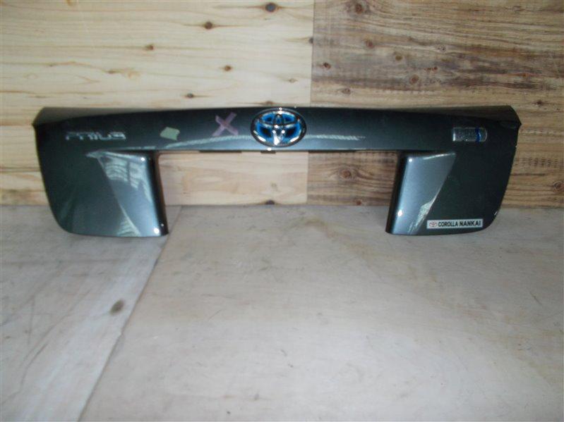 Накладка 5-й двери Toyota Prius ZVW50 (б/у)