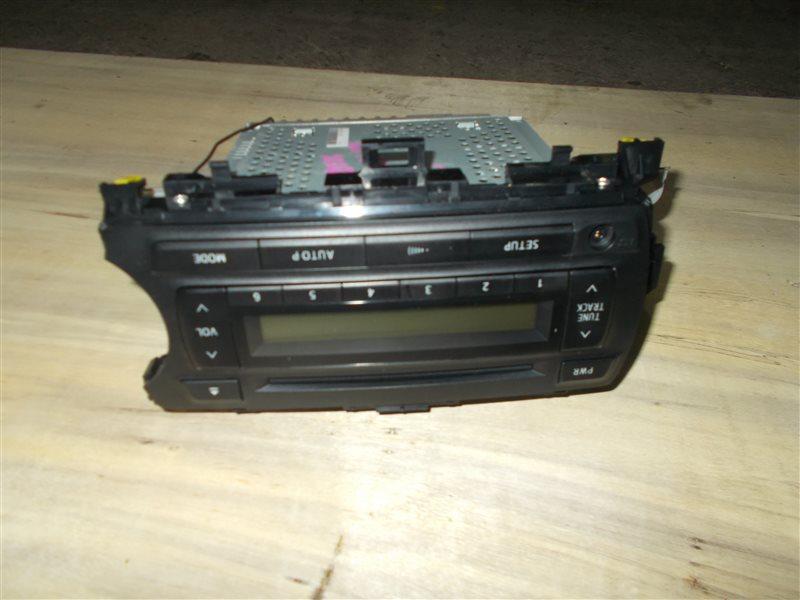 Магнитофон Toyota Vitz NSP130 1NR 2011 (б/у)