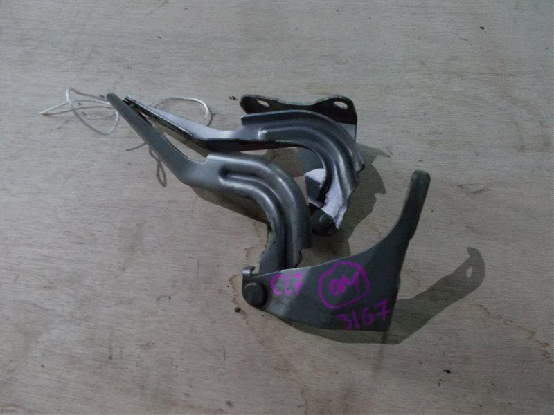 Петля капота Honda Accord CL7 K20A 2004 (б/у)