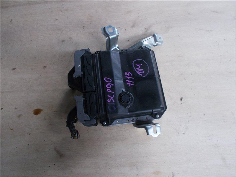Блок управления двс Toyota Vitz SCP90 2SZ 2010 (б/у)