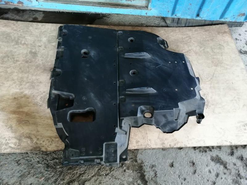 Защита Toyota Prius ZVW30 2ZR-FXE 2012 задняя (б/у)