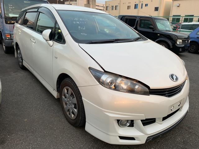 Накладка на порог Toyota Wish ZGE20 2ZR-FAE 2010 правая (б/у)