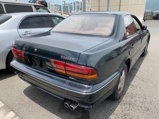 Крышка багажника Mitsubishi Diamante F25A 6G73 1990 (б/у)