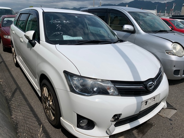 Nose cut Toyota Corolla Fielder NZE161 1NZ 2012 (б/у)