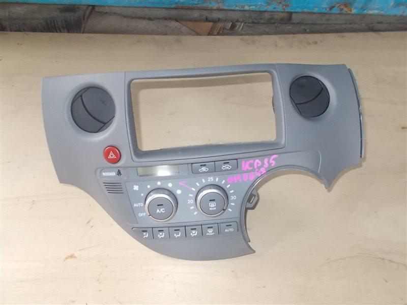 Климат-контроль Toyota Sienta NCP85 1NZ 2004 (б/у)
