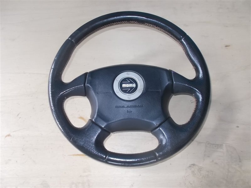 Руль с airbag Subaru Forester SF5 EJ205 2000 (б/у)