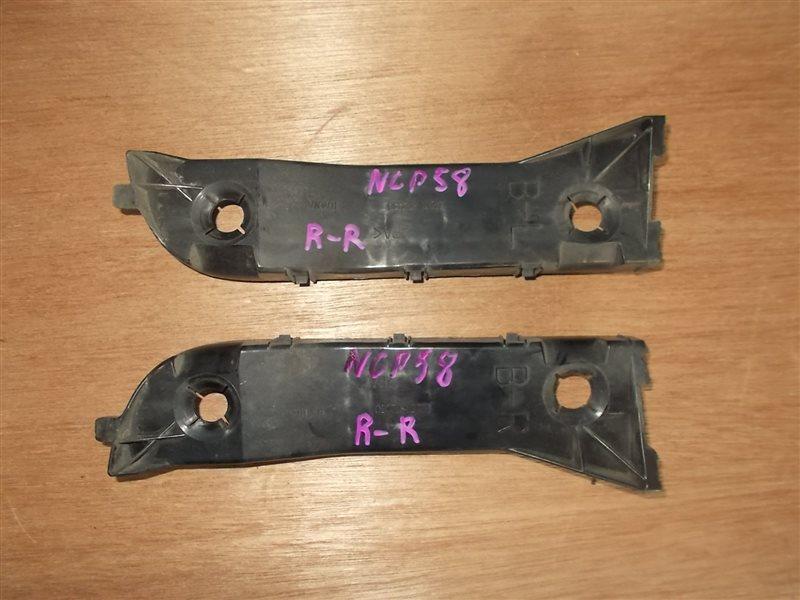 Крепление бампера Toyota Succeed NCP58 1NZ 2003 заднее правое (б/у)